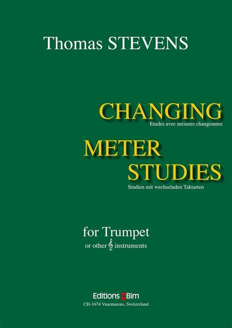 changing meters to changing meter studies for trumpet by