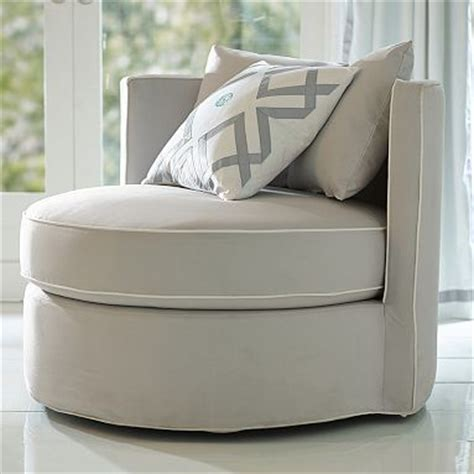 Round About Slipcover Chair