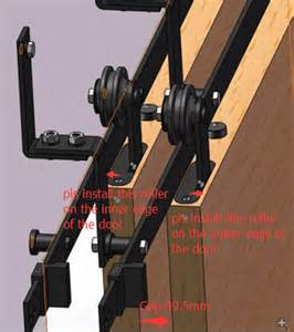 Interior Barn Door Track System Sliding Barn Door Hardware Picture More Detailed Picture