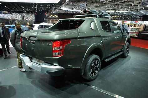 mitsubishi pickup trucks mitsubishi pulls the wraps off all new l200 for europe
