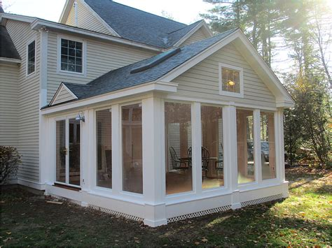 add a outdoor room to home adding a screened porch autumn breeze screened porch plan