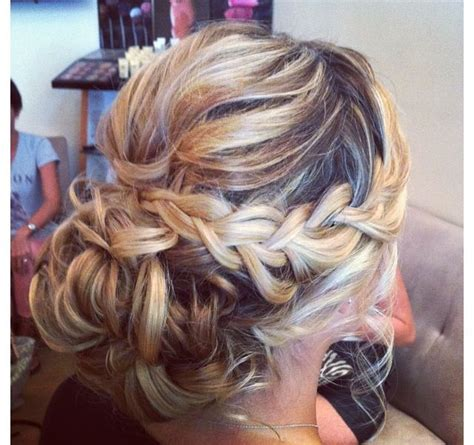 brady braided formal updo braided updo for homecoming prom wedding updos