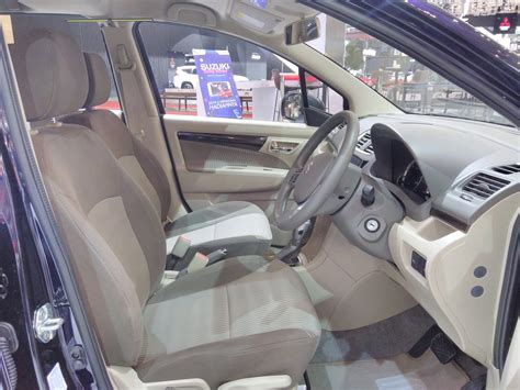 interior ertiga 2017 suzuki ertiga dreza interior at giias 2017