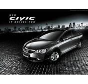 Black New Honda Civic Cars Wallpaper HD  Anything But Anne