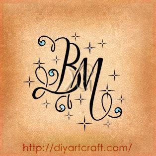 monogramma lettere monogramma lettere tatoo