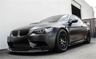 Bmw M3 E92 Frozen Black Bmw M3 E92 By Eas