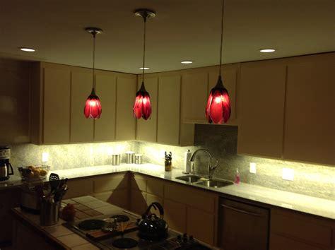Cranberry Island Kitchen Cranberry Tulip Pendant Lights Designer Glass Mosaics
