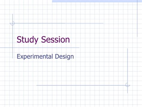 what design is experimental experimental design