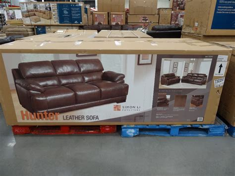 costco sofas in store simon li hunter leather sofa