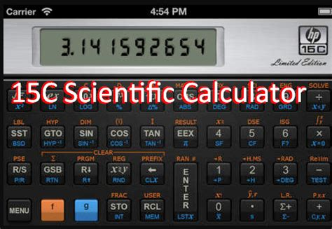 best scientific calculator apk 15c scientific calculator apk for android free