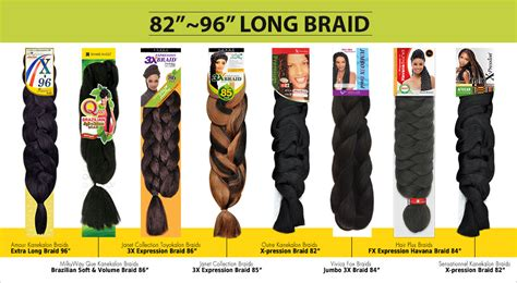 best kanekalon hair brand packs of kanekalon hair afro kinky braiding hair 100