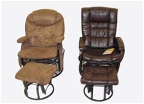 Consumer Reports Recliners by Big Lots Recalls Gliding Recliners And Ottomans For