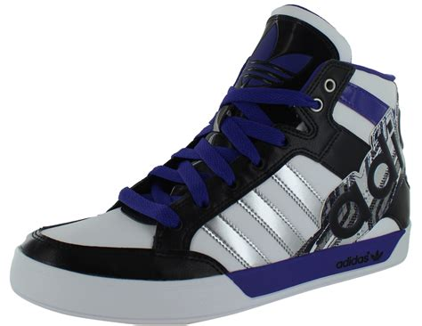 adidas high top shoes for adidas originals s adi court hi big logo sneakers