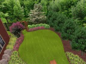 Landscape Ideas Pictures Backyard Landscape Ideas On A Budget Georgelduncan48