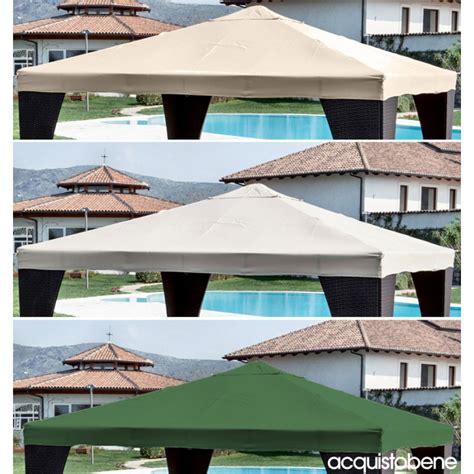 copertura per gazebo 3x3 top copertura di ricambio telo gazebo 3x3 3x4 mt bianco