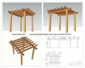 Free Pergola Plans And Designs by Incredible Free Standing Pergola Plans Designs Garden