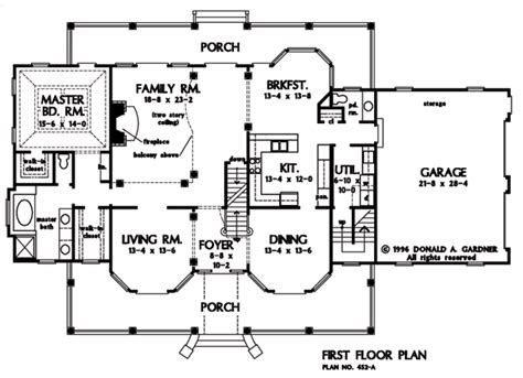 Arbordale House Plan The Arbordale House Plan Images See Photos Of Don Gardner House Plans 407 452a1 F