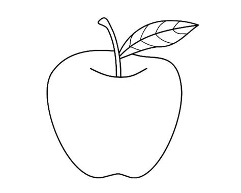 Coloring Page Of An Apple by Coloring Apple Colouring Pages Color Free Coloring For