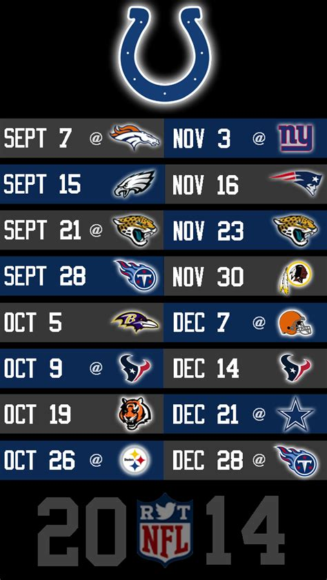 2014 nfl schedule wallpapers for iphone 5 page 5 of 8
