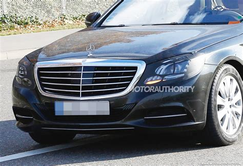 mercedes s550 2018 refreshed 2018 mercedes s class spied mbworld org forums