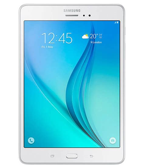 Samsung Wifi samsung sm t355y 16gb wifi 3g data white sm t355y smt355y available at snapdeal for rs 16500