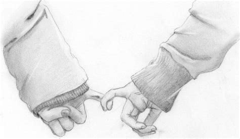 Sketches Holding by Promise Pencil Sketch Really