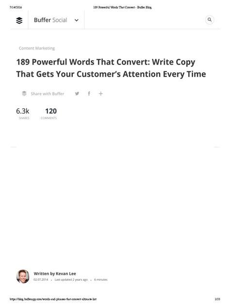 189 Powerful Words That Convert - Buffer Blog.pdf