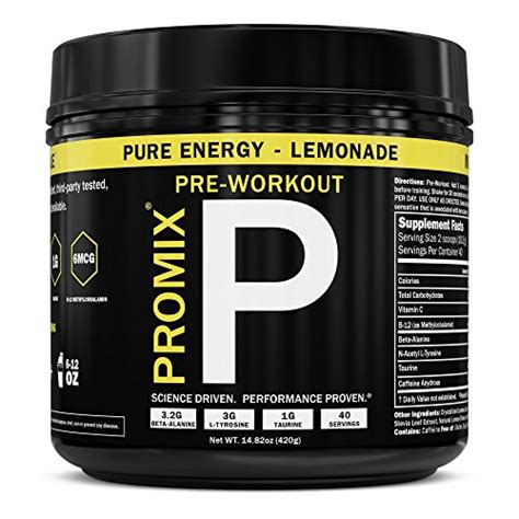 promix 1 100 non gmo all pre workout