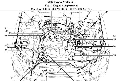 how cars engines work 2002 toyota avalon head up display 2001 toyota avalon engine diagram wiring diagram for free