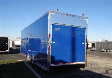 mobile workshop trailer enclosed new pepsico blue 8 5 x 32 atc aluminum