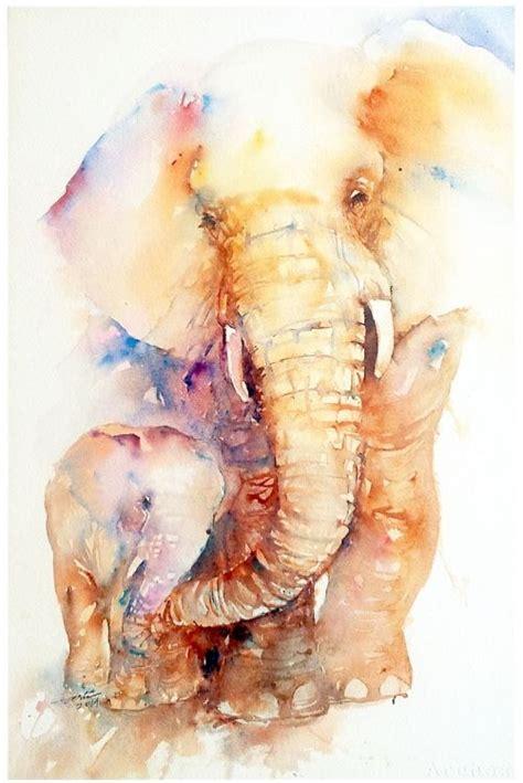 watercolor elephant tutorial 12 best art images on pinterest watercolour paintings