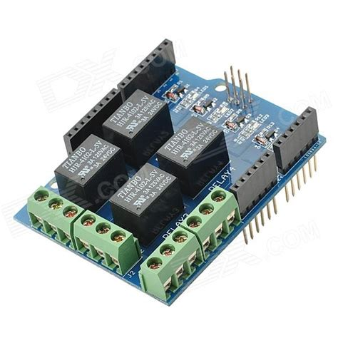 Arduino Relay Shield 4 Channel relay shield v0 9b 5v 4 channel relay module for arduino