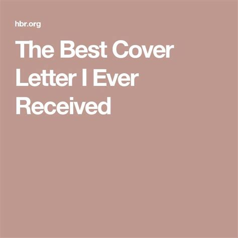 17 best ideas about Best Cover Letter on Pinterest   Cover