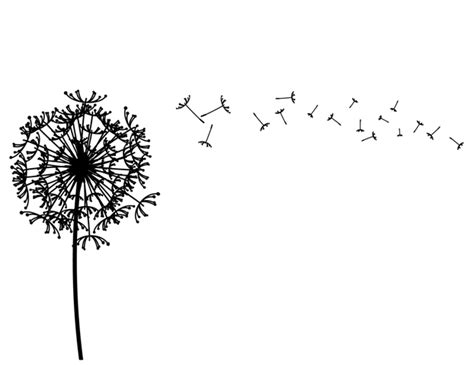 Family Wall Stickers Quotes dandelion wall decal decalmywall com