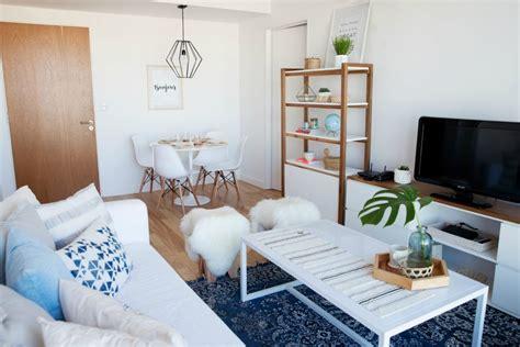 ideas para decorar living chico luz y muebles c 243 mo decorar un departamento chico decocasa