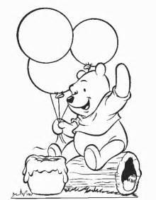 Free Printable Winnie Pooh Coloring Pages Kids