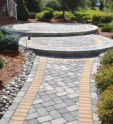 Pathway Ideas Front Walkway Ideas Ground Cover Between Pavers