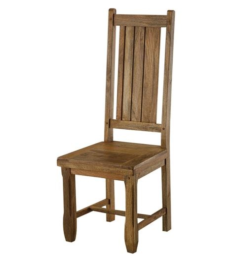 High Back Wood Dining Chairs Dining Chairs By Wood Dekor By Wood Dekor Contemporary Furniture Pepperfry Product