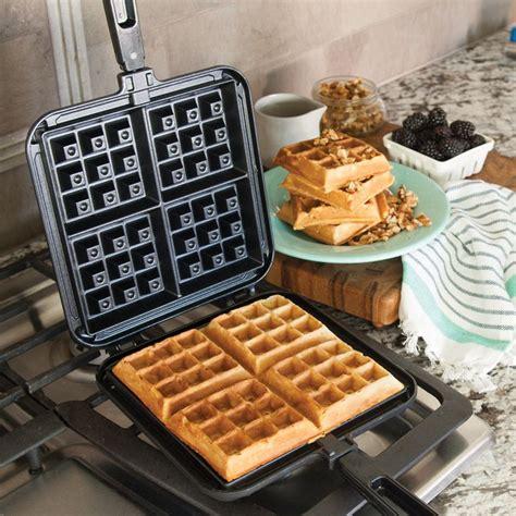 Grill Cooktop Original Stovetop Belgian Waffle Maker Nordic Ware