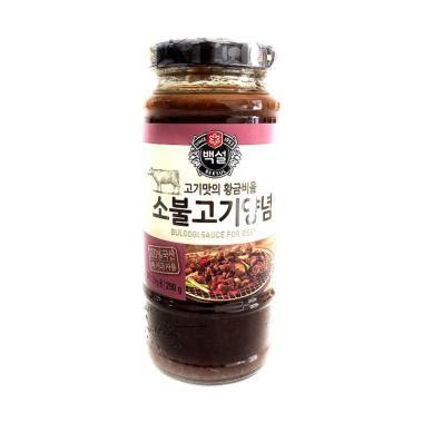 Jual Panggangan Bulgogi jual beksul korean bbq sauce bulgogi marinade 290 g harga kualitas terjamin