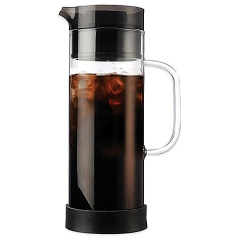 bed bath coffee maker buy primula 174 50 oz cold brew iced coffee maker from bed