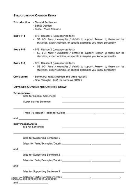 Essay Writing Format Exle by Opinion Essay Sle Excel Homework