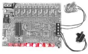 Pwm Led Chaser With Variable Speed Control | pwm led chaser variable speed option