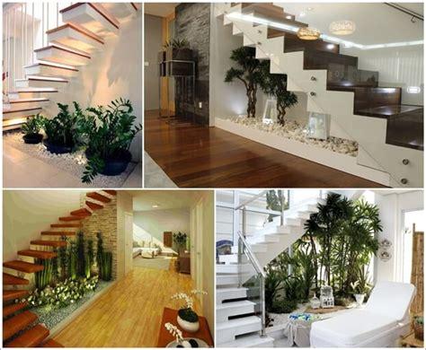 wonderful  unique  stairs indoor gardens