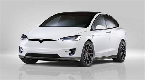 Teslas Model X Official Novitec Tesla Model X Gtspirit