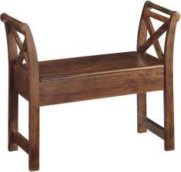 accent benches abbonto warm brown accent bench from ashley coleman