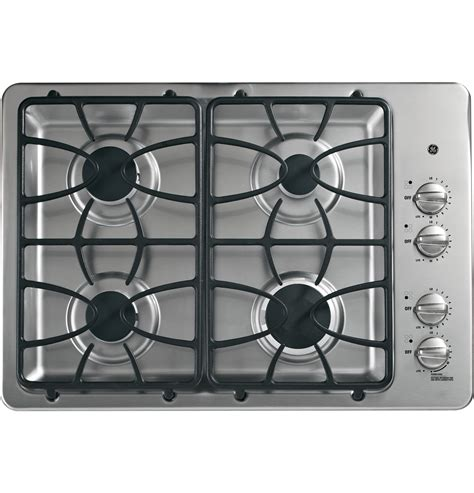 30 Cooktop Gas Ge 174 30 Quot Built In Gas Cooktop Jgp333setss Ge Appliances