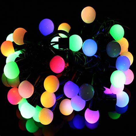 Innlight Led Globe String Lights With Color Changing 33ft Color Changing String Lights
