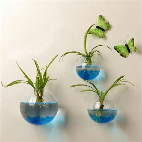 decorative glass pots glass ball vase aquarium container decorative hanging