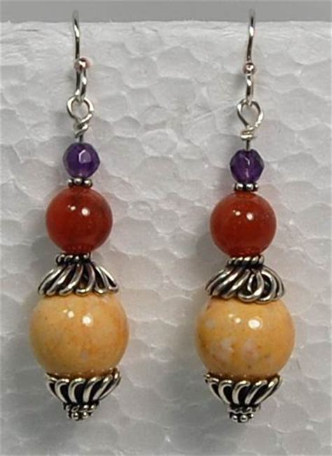 Bead Earring Designs Handmade - handmade gemstone beaded jewelry handmade jewelry